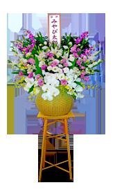ダルマ籠供花